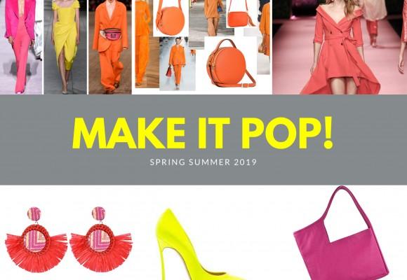 Τα χρώματα της μόδας για την Άνοιξη- Καλοκαίρι